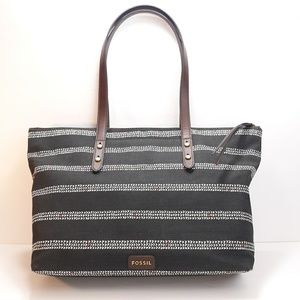 Fossil Jenna Canvas Tote
